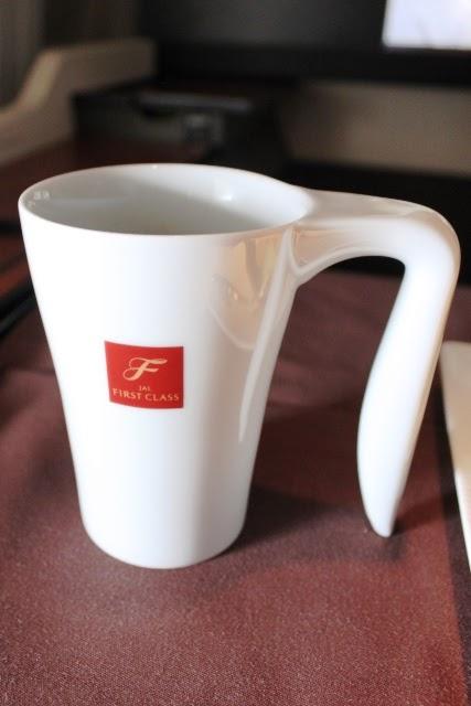 ファーストクラスのマグカップ