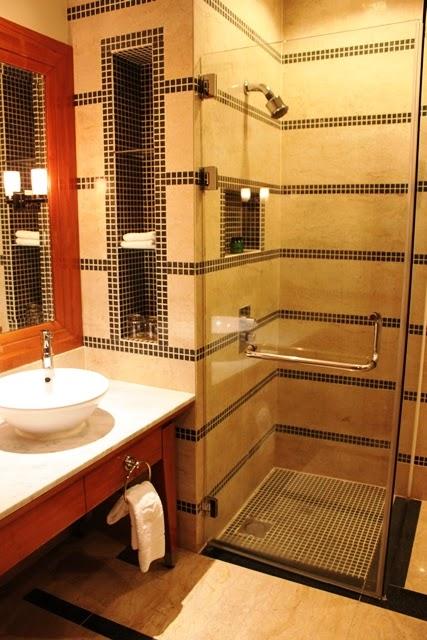 シャングリラ・プトラジャヤのシャワー室