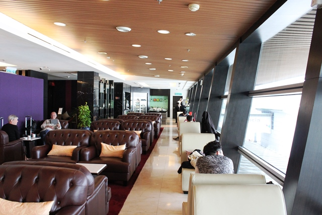 クアラルンプール空港 タイ航空 ラウンジ:TGラウンジ
