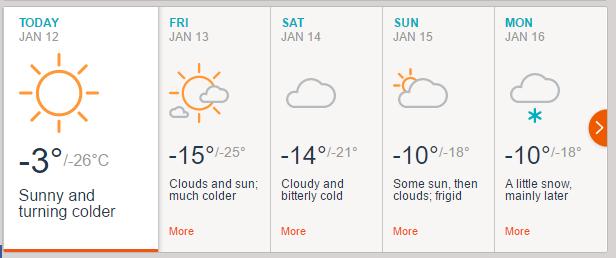 インド 冬 気温:レーの天気予報