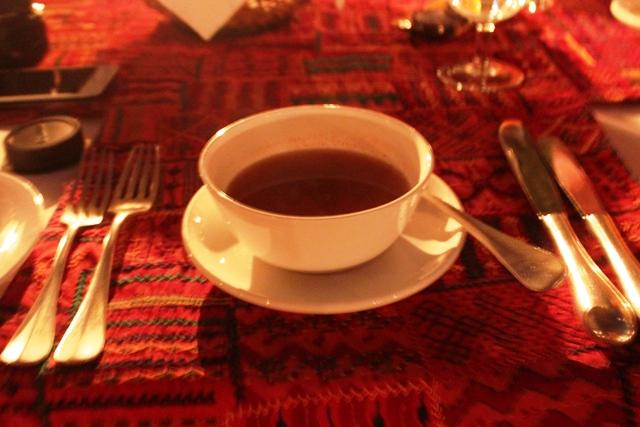 トマトコリアンダースープ