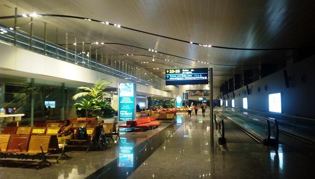 綺麗なバンガロール空港