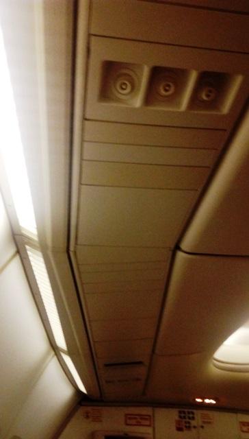 クラシックな感じの天井