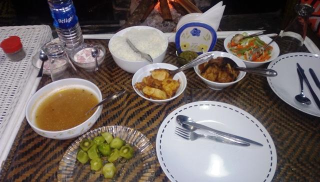 ナガ伝統料理