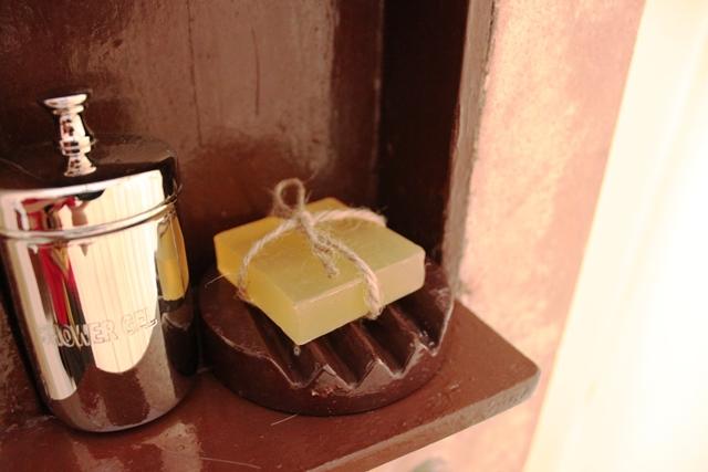 石鹸とシャンプー