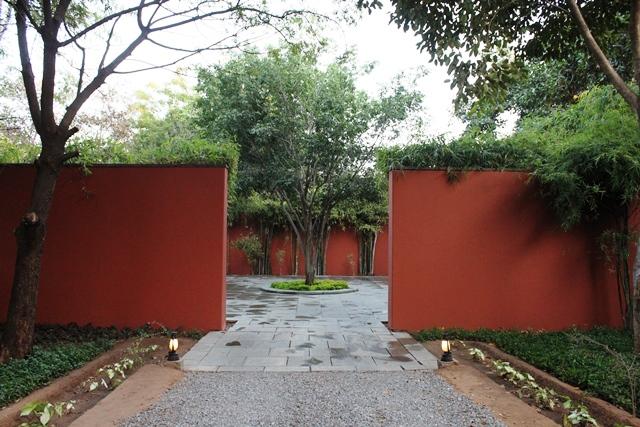 リゾート入口