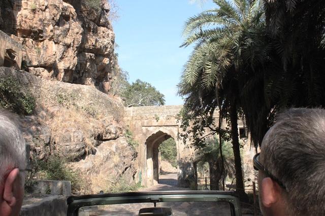国立公園の入口
