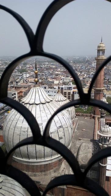 オールドデリー 観光:頂上から眺める景色