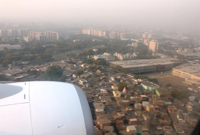 ムンバイ空港付近