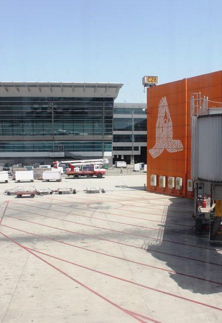 そしてデリー空港到着!