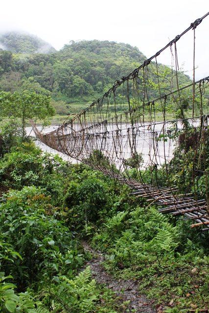 竹の吊り橋