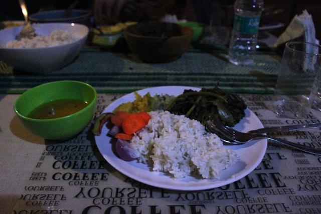 最後の夕食