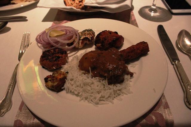 メイデンズのインド料理