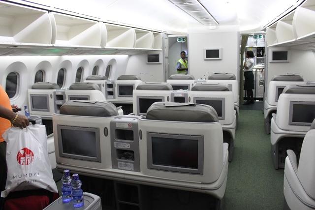 エチオピア航空 787 ビジネスクラス:エチオピア航空B787ビジネスクラス