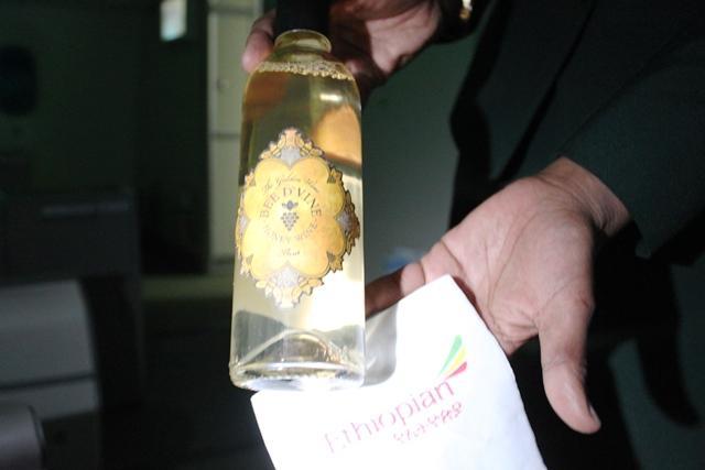 これはカリフォルニア産のハニーワイン