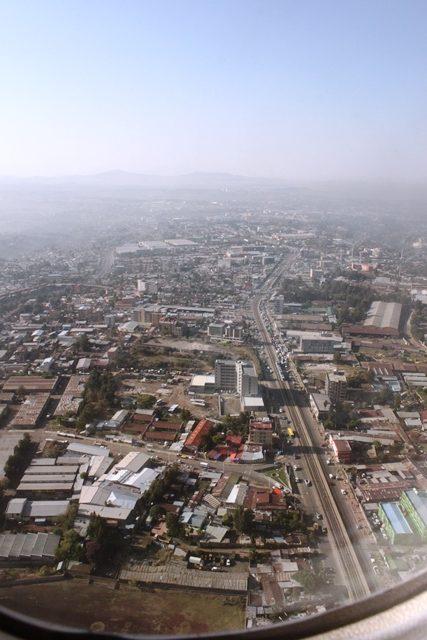 アディスアベバ市街