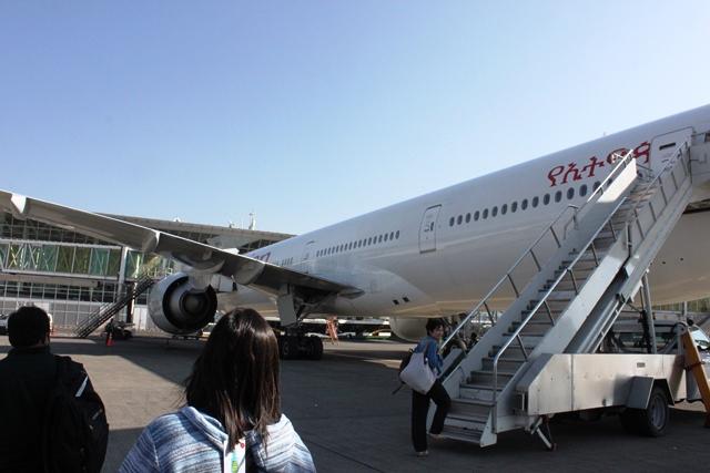 B777-300は胴体が長い!