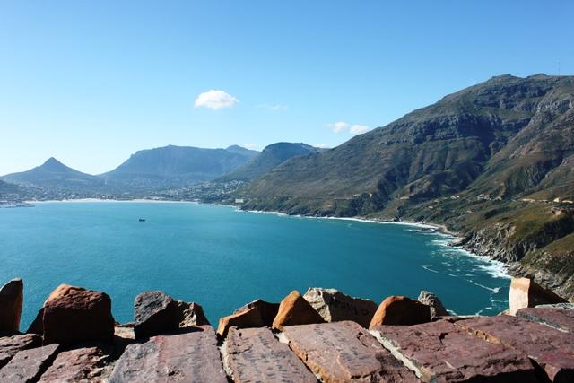 展望台から眺める大西洋