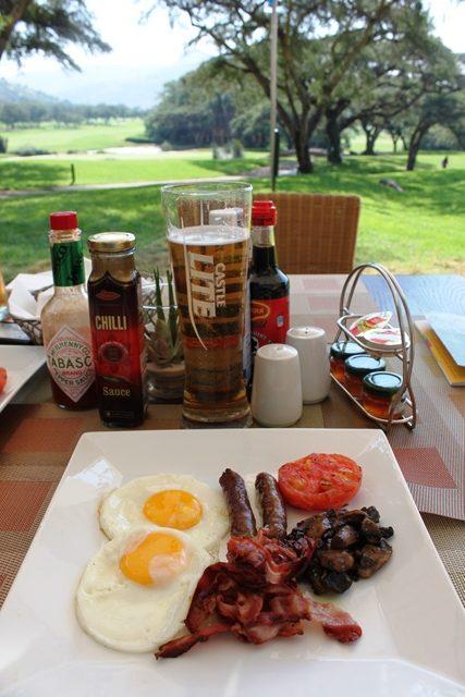 南アスタイルの朝食