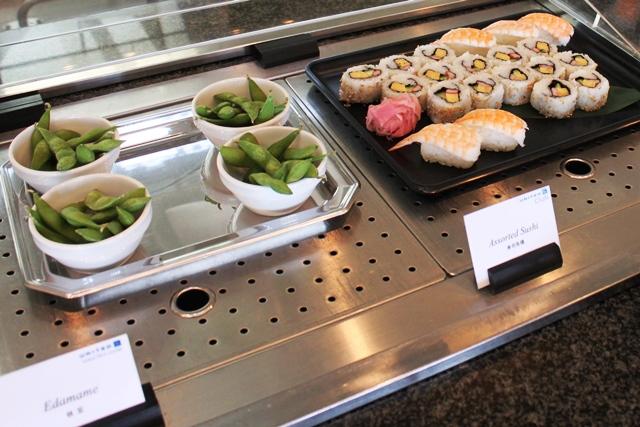 枝豆と寿司