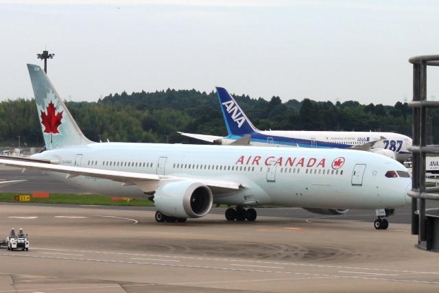 エアカナダB787機