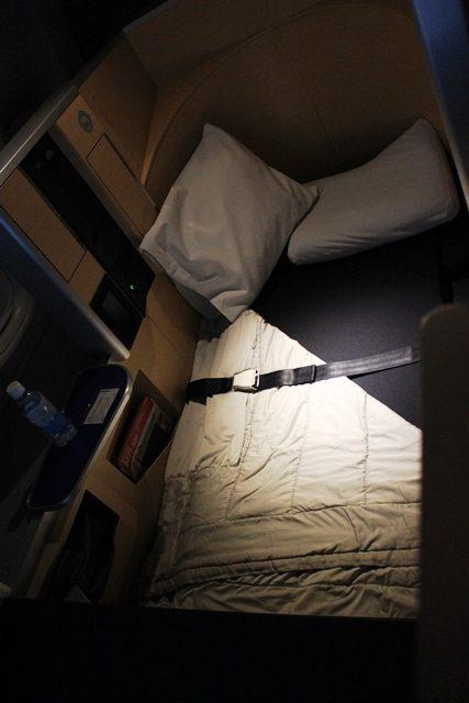 そしてこれがベッド!