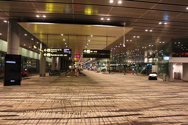 ガラガラの第3ターミナル