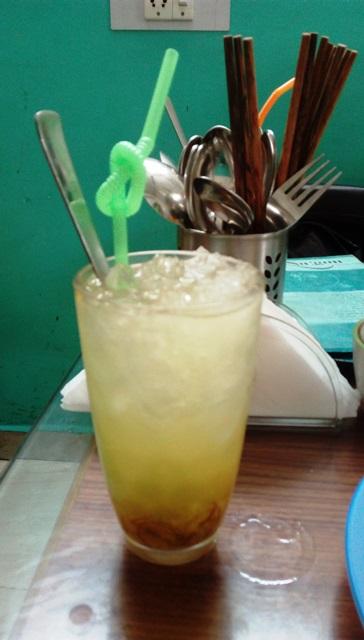 柑橘しょうがジュース(食欲が出てくる味!)