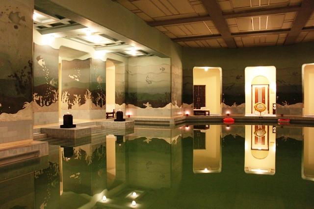 ウマイドバワン・パレスの室内プール