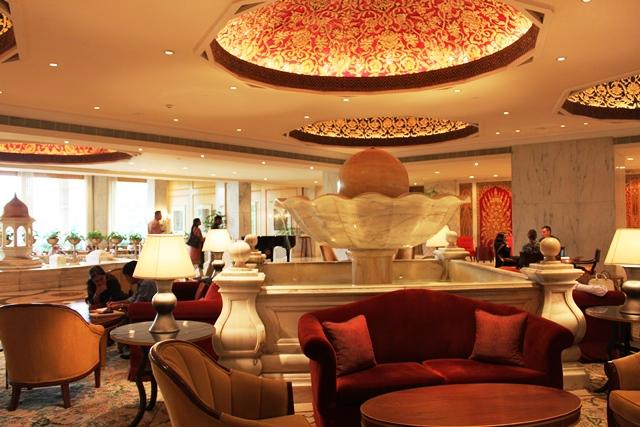 タージマハールホテル(ニューデリー)のロビー