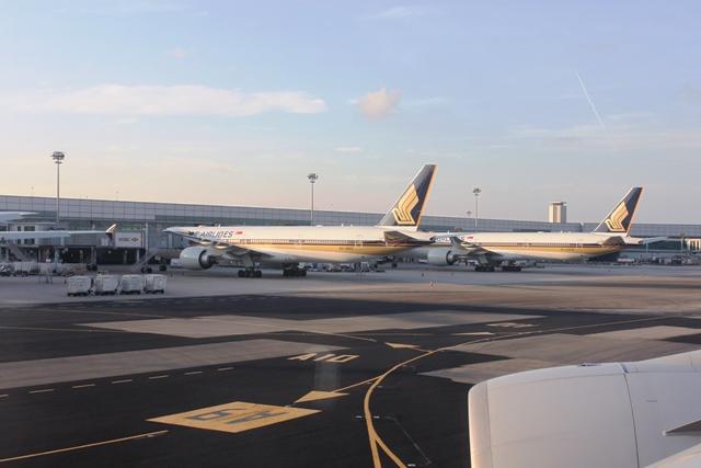 シンガポール航空B777-300ER機