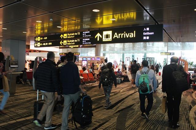チャンギ空港第3ターミナル内