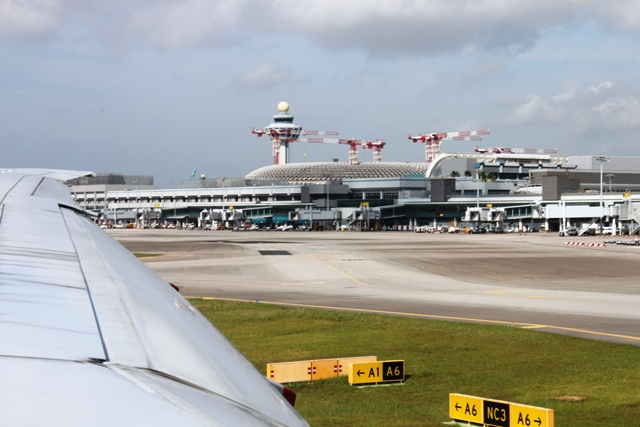 建設中の第4ターミナル