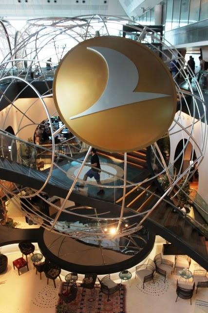 ターキッシュエアラインズ ラウンジ イスタンブール:ラウンジは2階建て