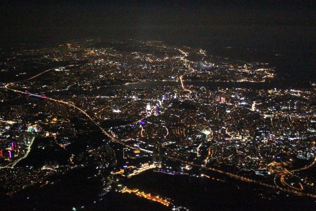 イスタンブールの夜景