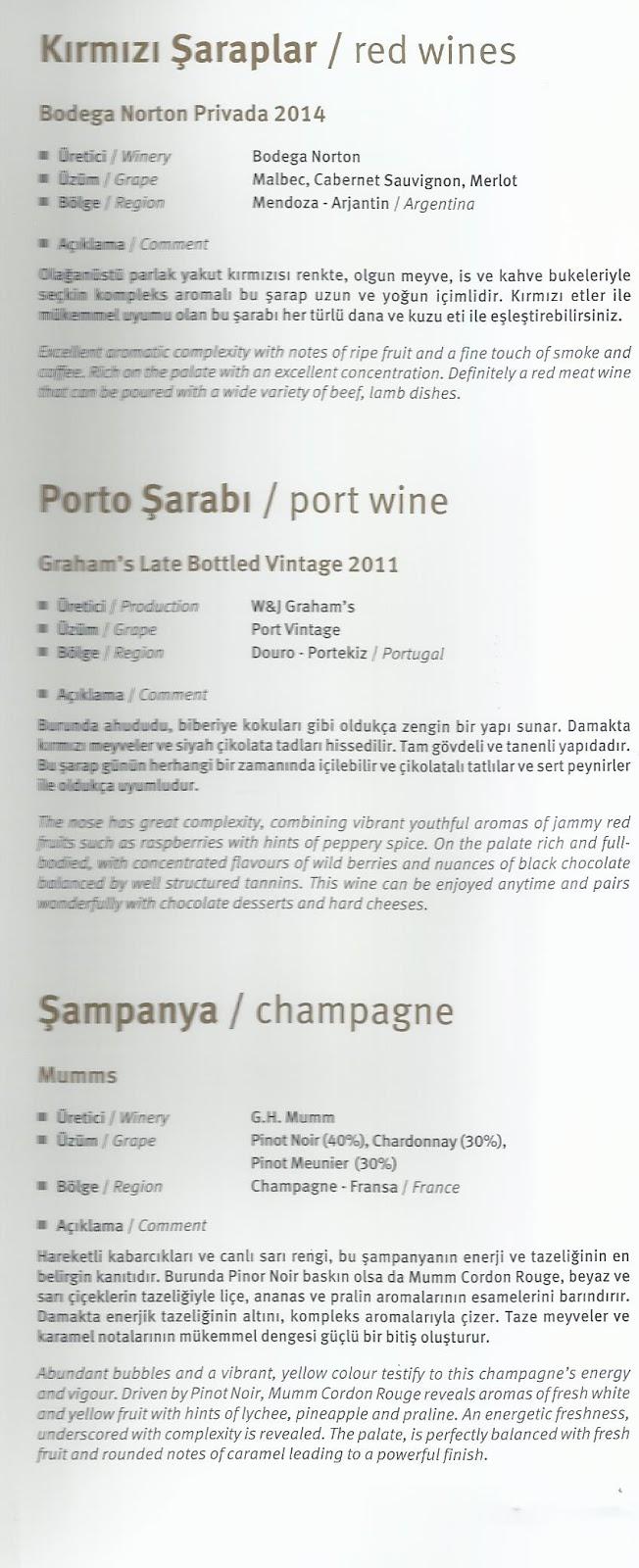 赤ワイン・ポートワイン・シャンパン