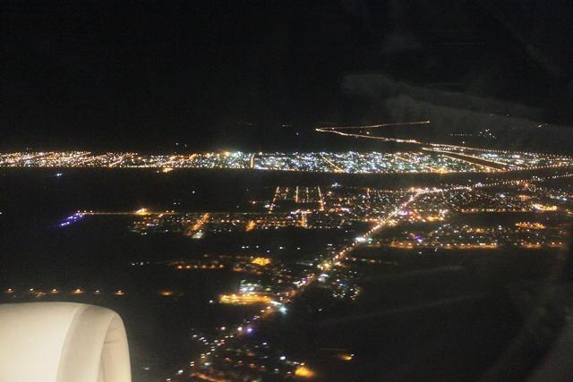 テヘラン郊外の夜景(朝景?)