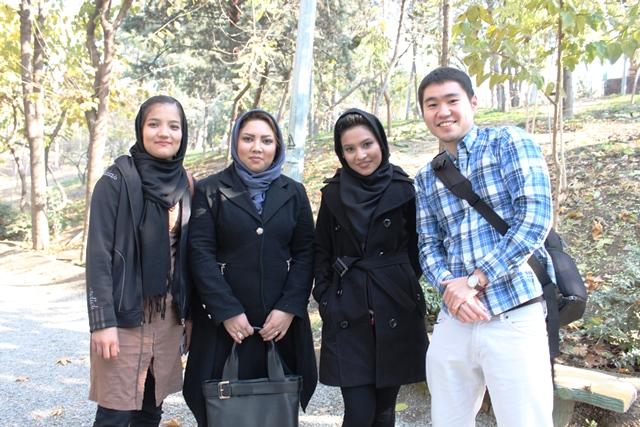 テヘランの女子大生