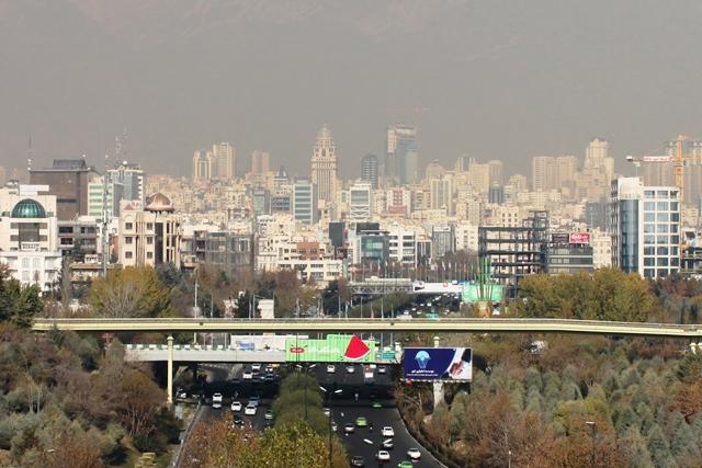 富裕層の住む北テヘラン