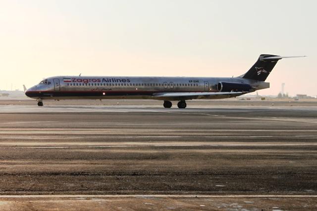 ザグロス航空MD-82機