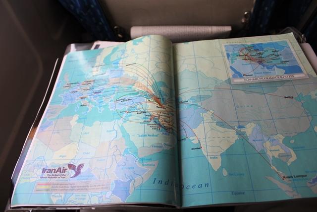 イラン航空の就航先