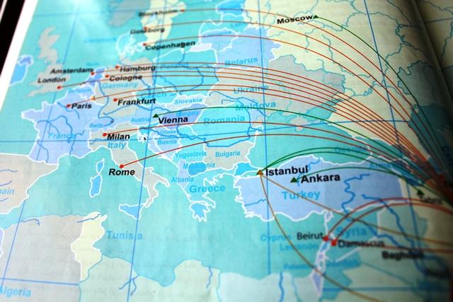 ヨーロッパ路線