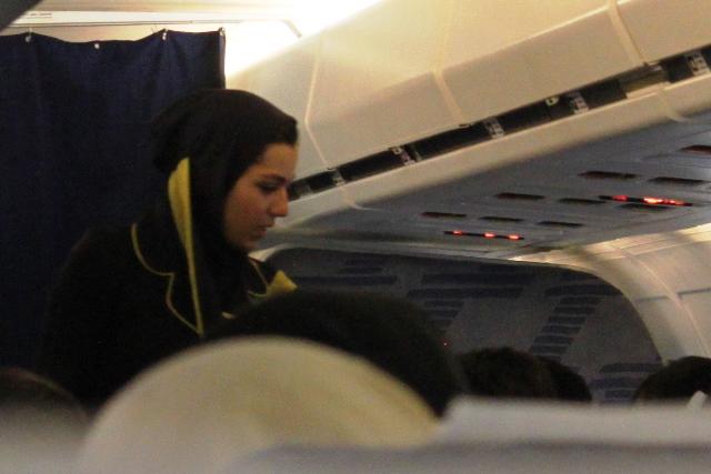 イラン航空クルー