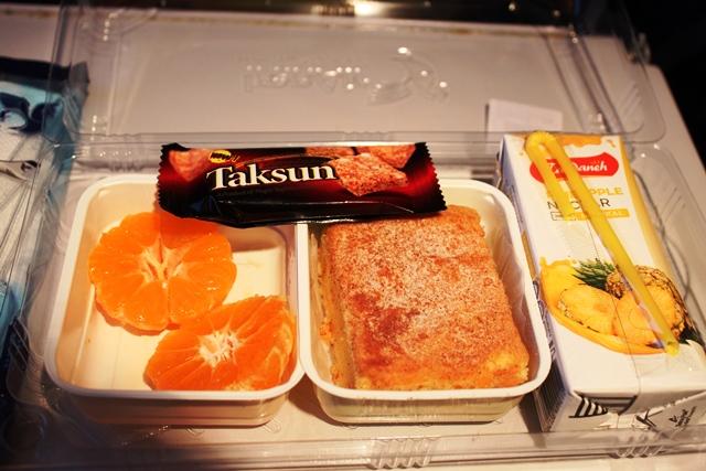 美味しかった機内食