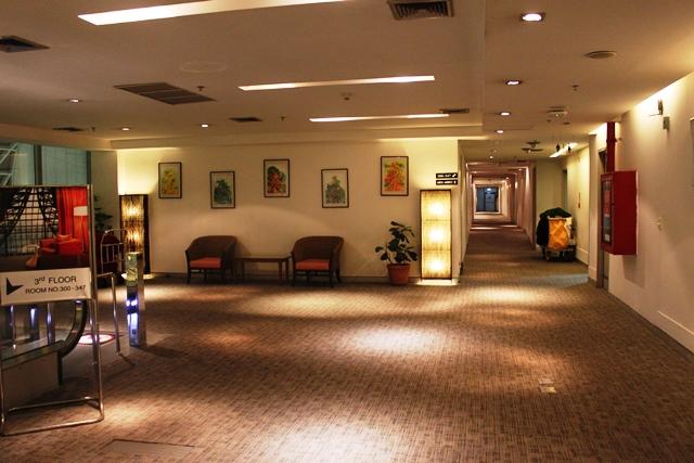 スワンナプーム空港 トランジット ホテル:ホテル内
