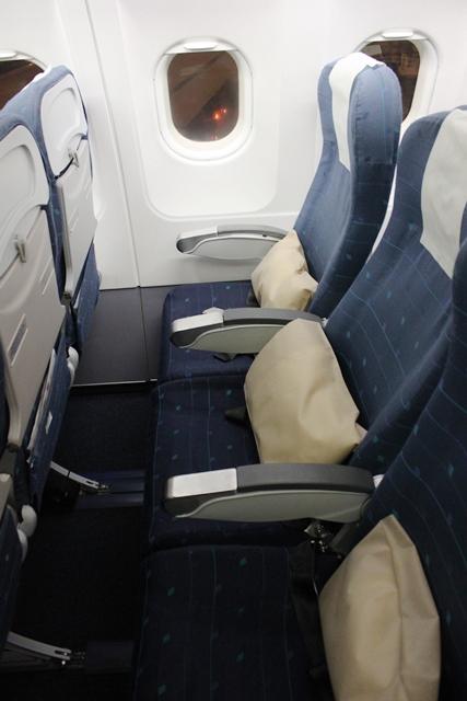 スリランカ航空 A320 エコノミー:座席