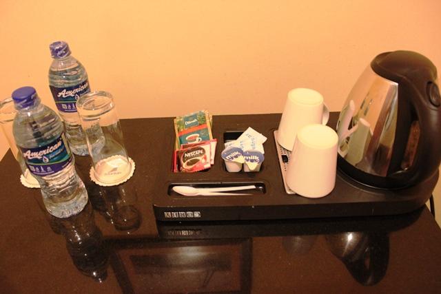 湯沸かし器とアメニティー