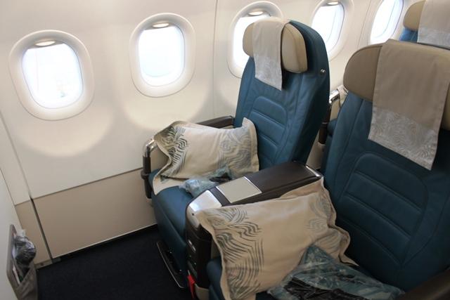 スリランカ航空 A320neo:ビジネスクラス