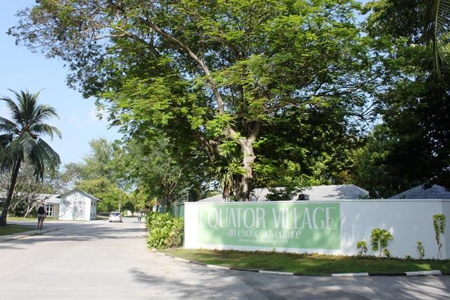 リゾートの入口