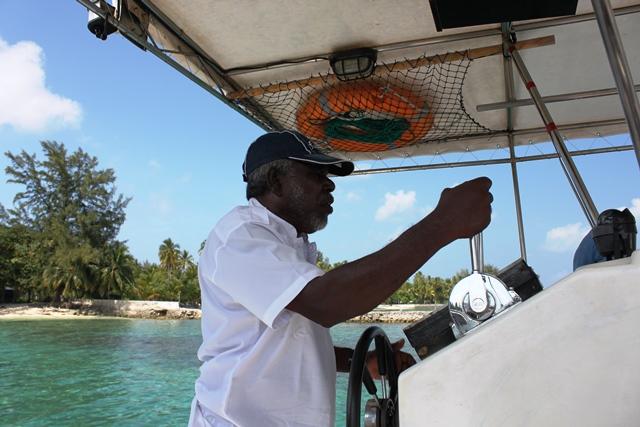ボートの船長